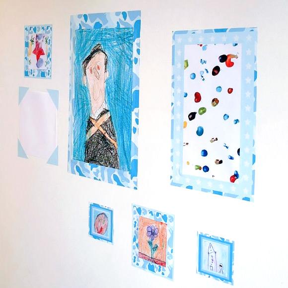 Children's Art Frame Wall Stickers