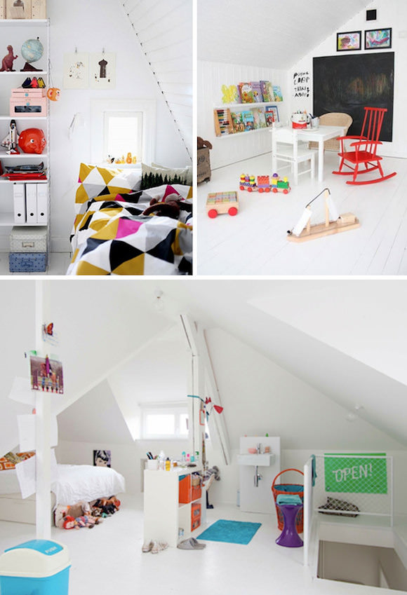 Attic Kid's Room / Playroom
