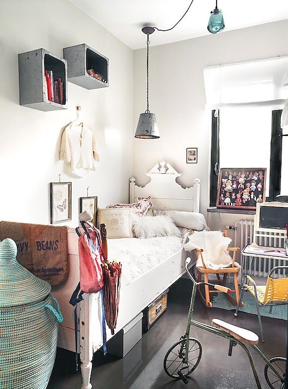 Lovely Kid's Room In A Small Space
