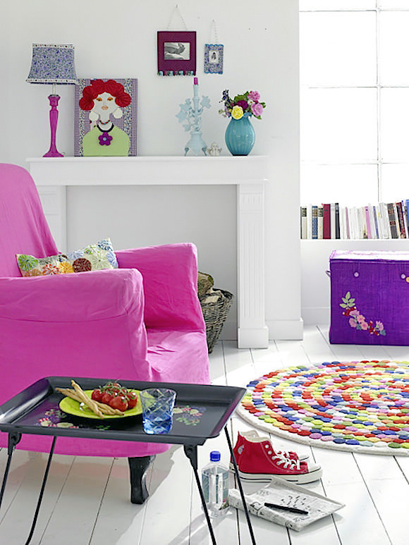 Kids' Rooms with Personality: A Touch of Pink