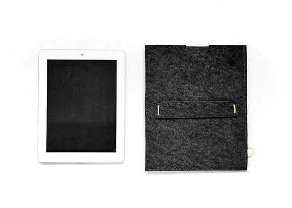 Make A Felt iPad Sleeve In 10 Minutes