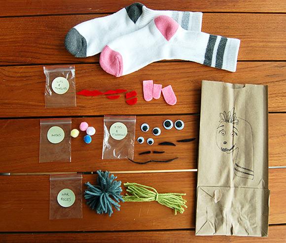 DIY Sock Puppet Kit