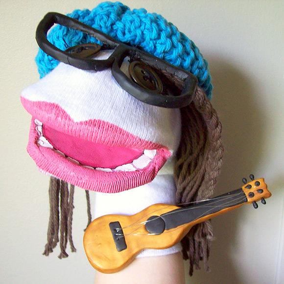 DIY Rock Star Puppet
