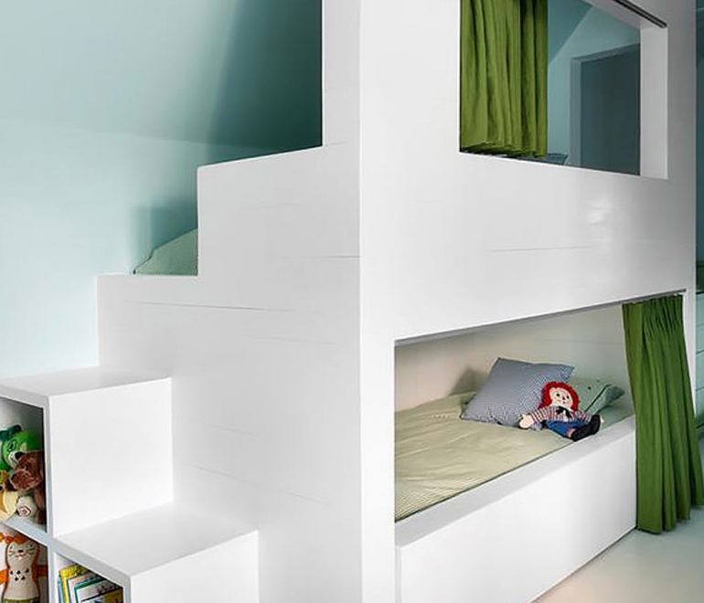 Fun Hideaway Bunk Beds