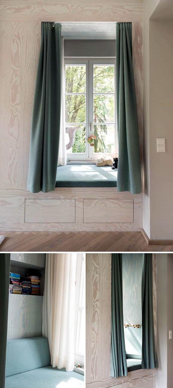Child's Sleeping Window Nook