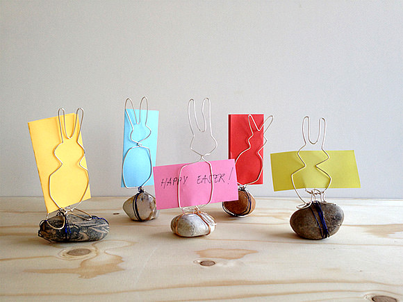 DIY Bunny-Shaped Card Holders