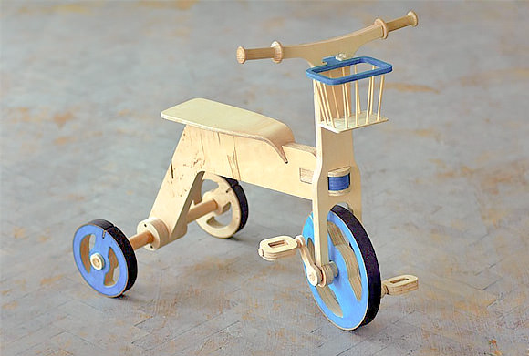 Plywood Tricycle