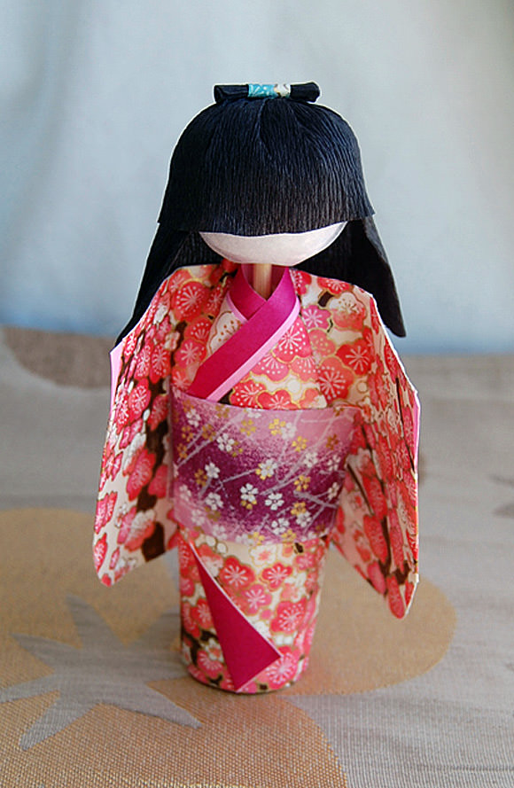 DIY Washi Doll