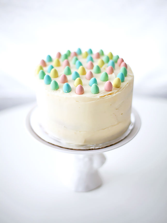 DIY Mini Egg Easter Cake