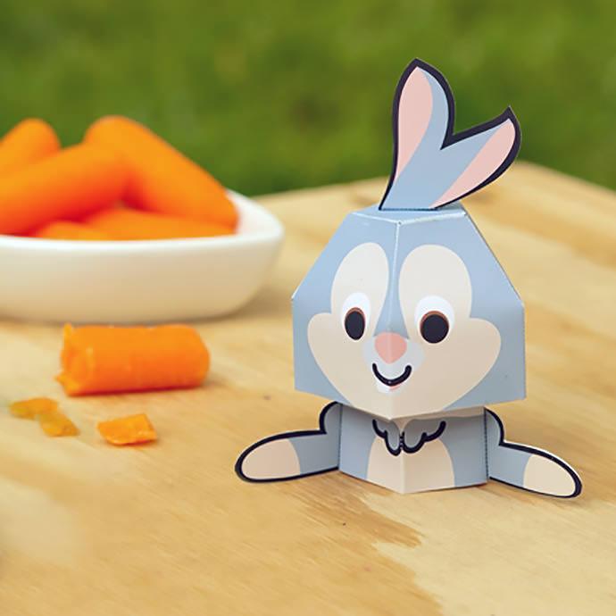DIY Printable Easter Bunny Mario Bros.