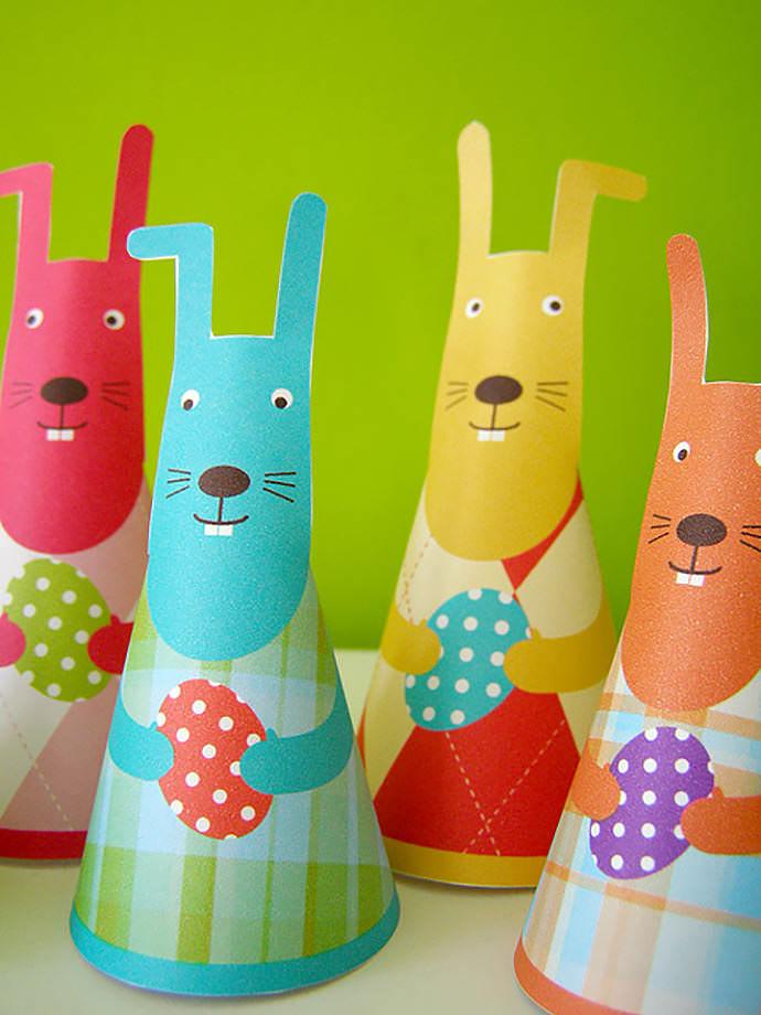 DIY Printable Freebie Easter Bunny