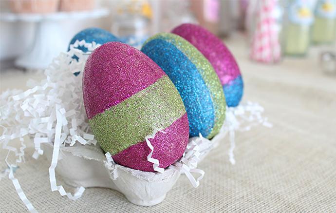 DIY Glitter Eggs Kit by Darby Smart