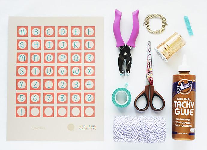 Printable Letter Tiles