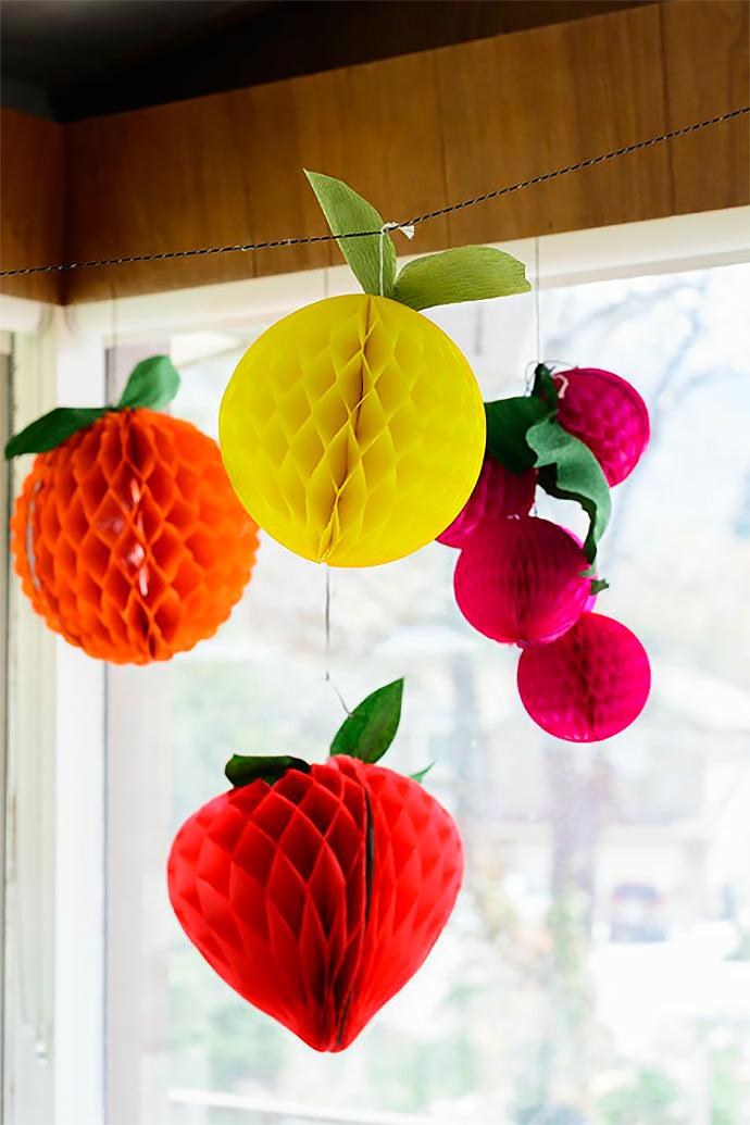 Diy Paper Honeycomb Decorations