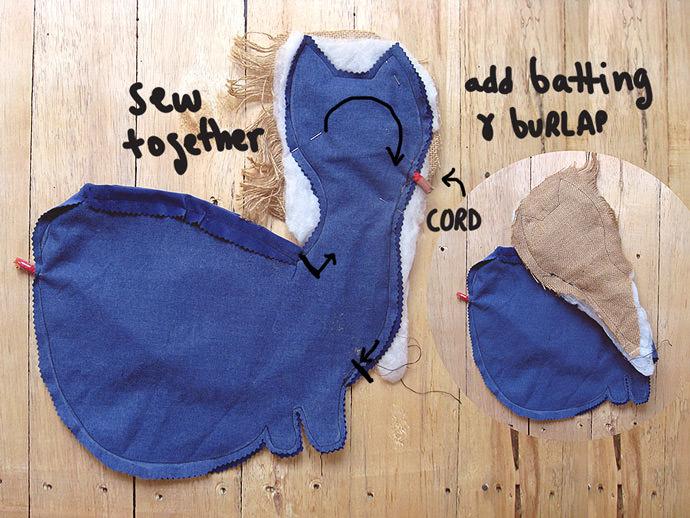 DIY Kitty Bag