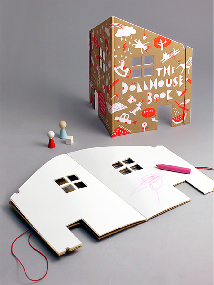Dollhouse Book by Rock & Pebble