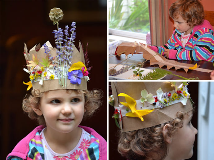 DIY Fairy Crowns (via Small Hands In The Big World)