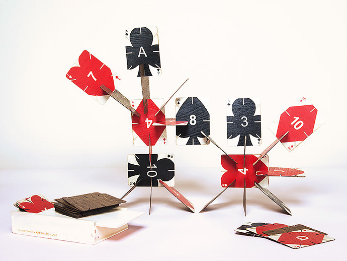 Plywood Playing Cards (via Areaware)