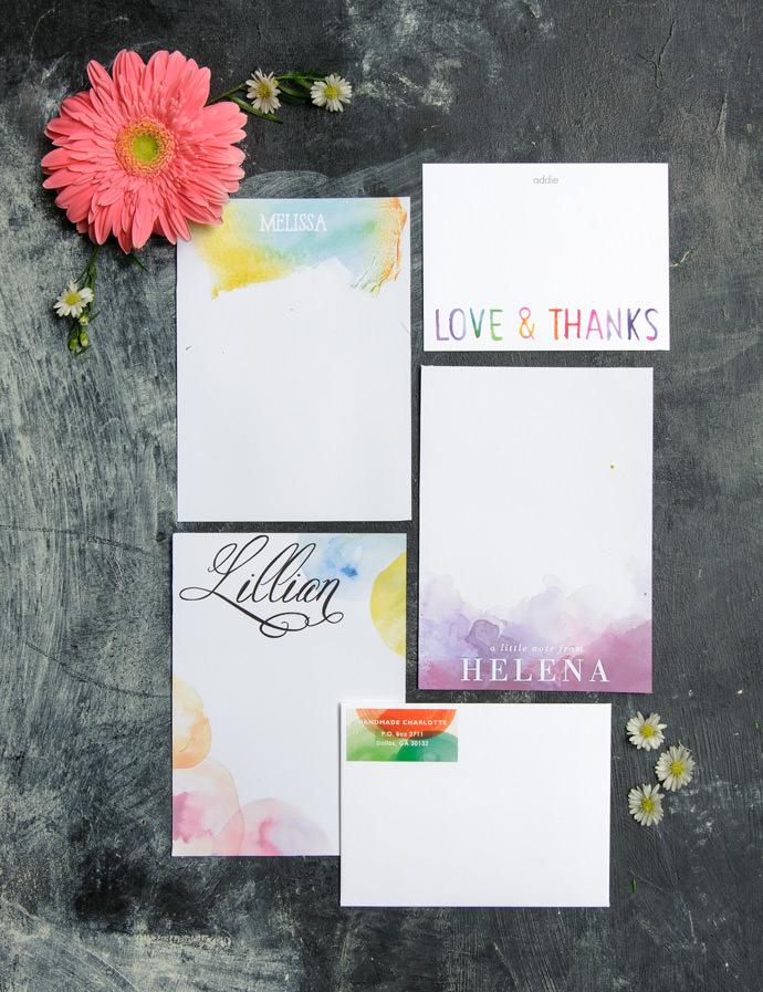 Tiny Prints Stationery