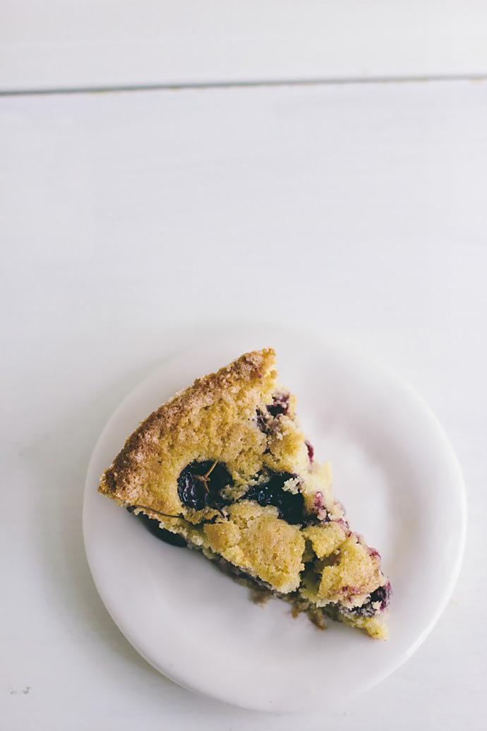 Cherry Skillet Cake Recipe