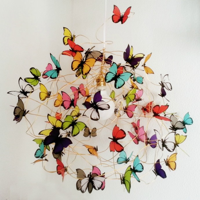 Dawanda Butterfly Lamp