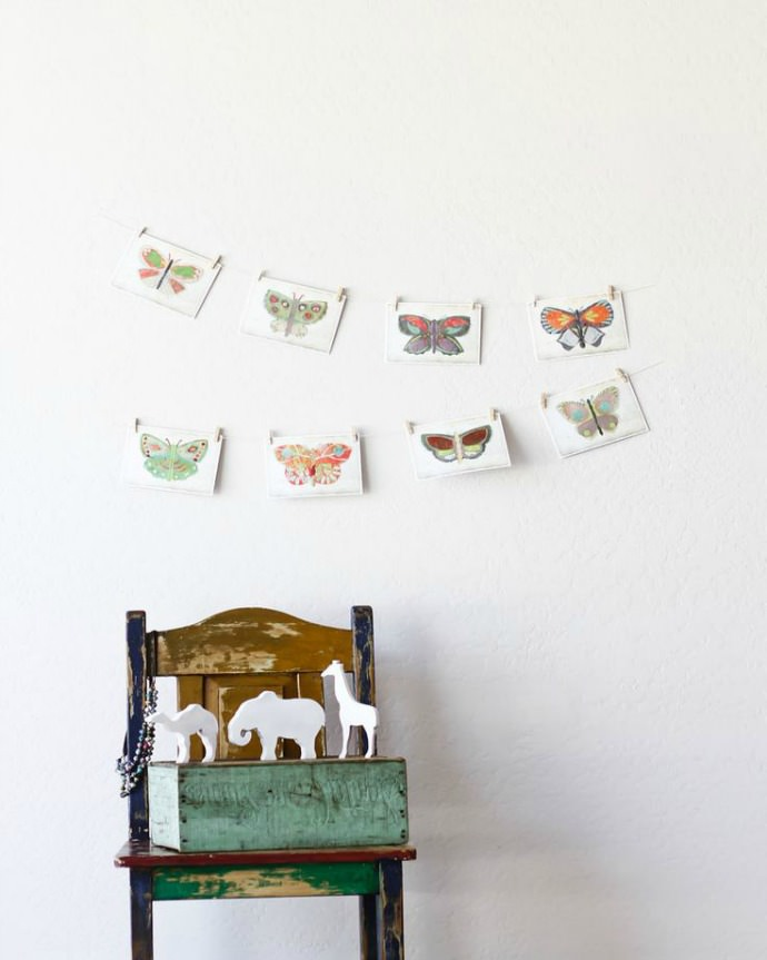 Butterfly wall cards from Children Inspire Design