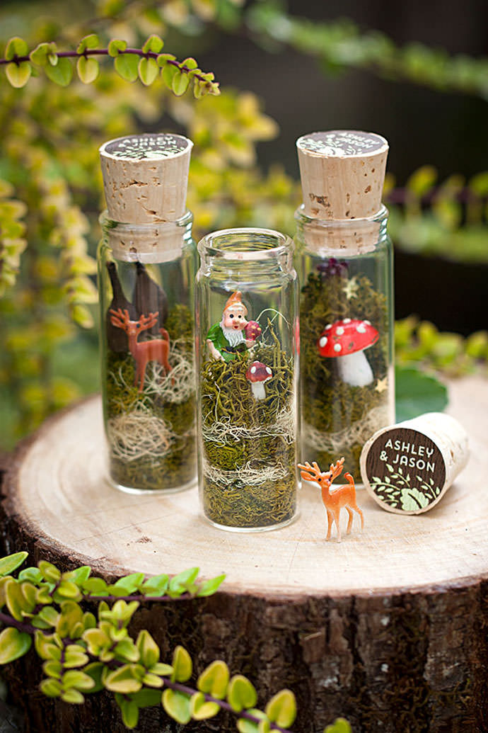 fairy terrariums via evermine