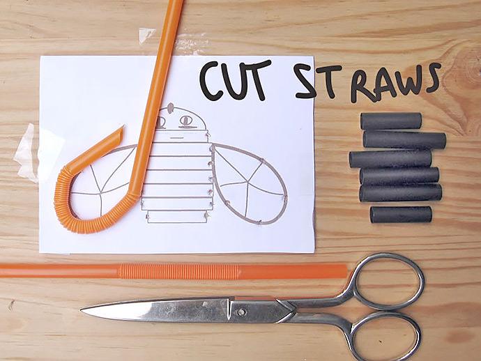 DIY Straw Embroidery