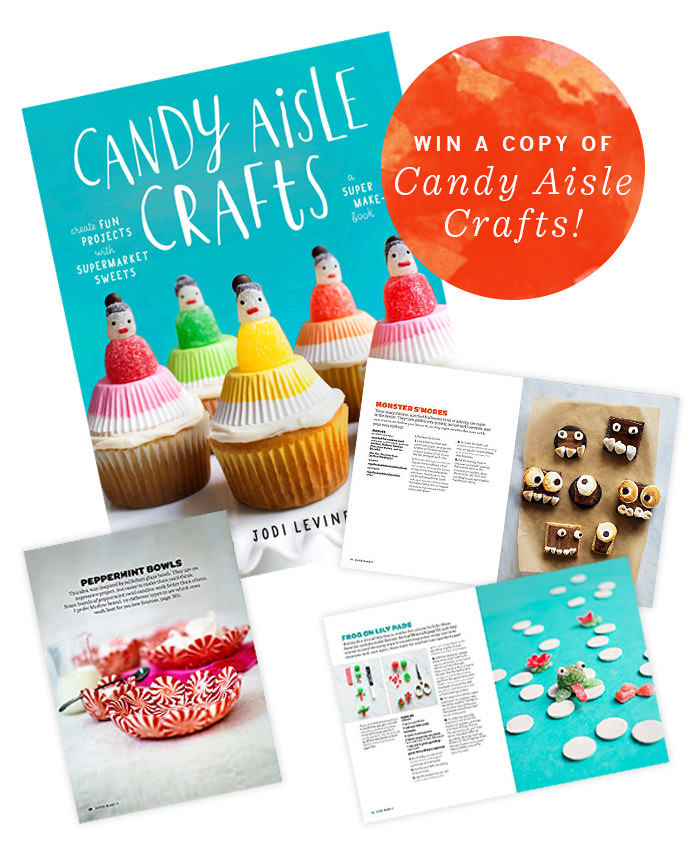 Win a copy of Candy Aisle Crafts by Jodi Levine!
