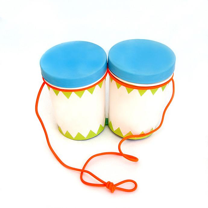DIY Musical Instruments for Kids: Bongos