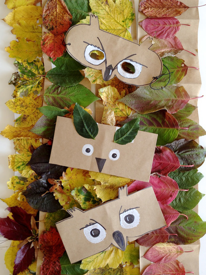 DIY Forest Friends Masks and Crowns for Kids