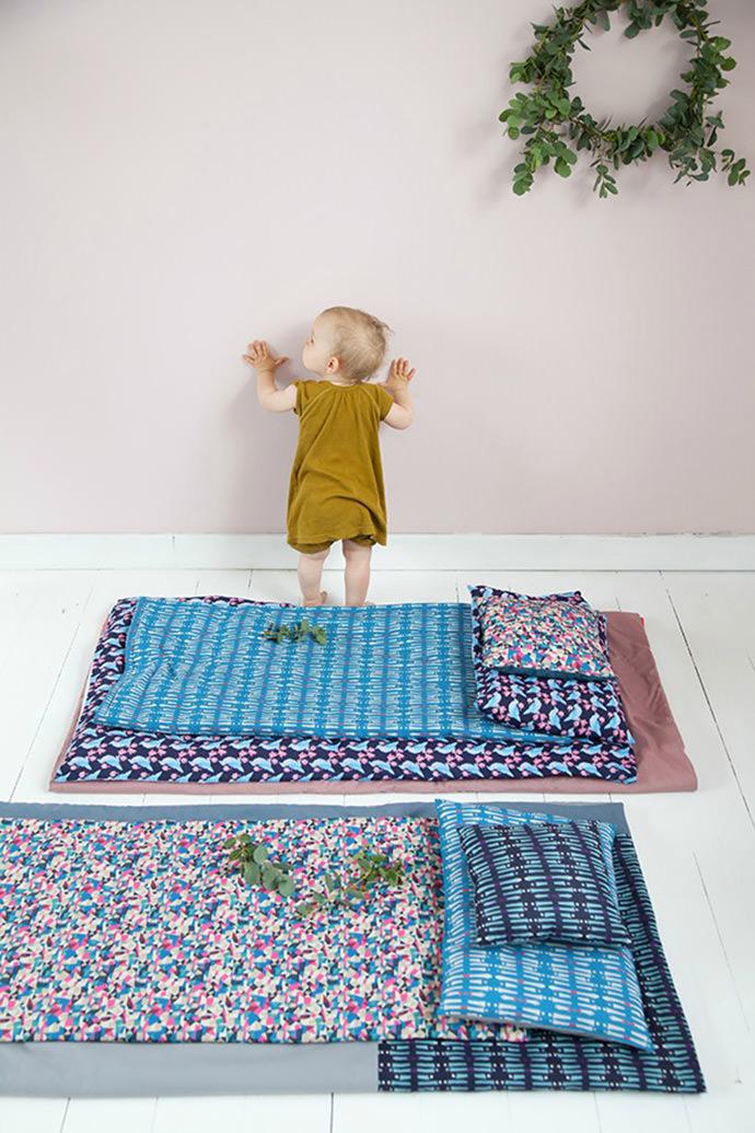Adeline Affre's Bedding for kids