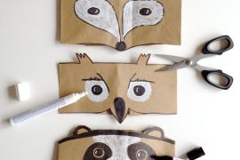 DIY Autumn Animal Masks