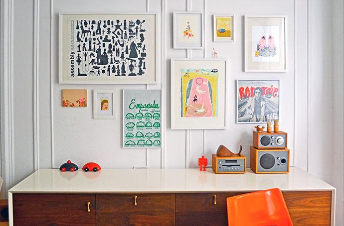 Tour the home of Handmade Charlotte contributor and Martha Stewart veteran Jodi Levine!