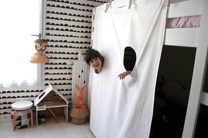 IKEA Hack: DIY Bunk Bed Fort