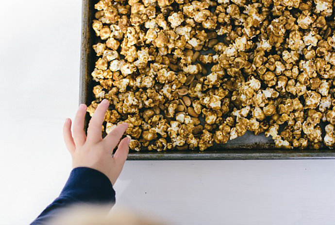 Sweet and Salty Caramel Corn Recipe