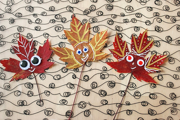 Fall Crafts for Kids: Leaf Peepers (via The Artful Parent)