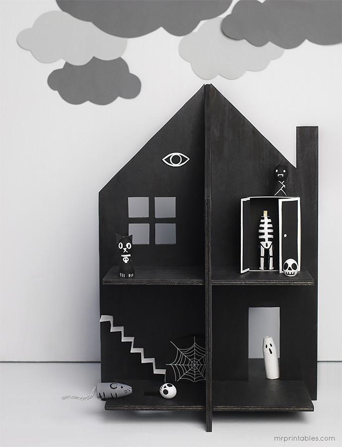 DIY Haunted Doll House (via Mr Printables)