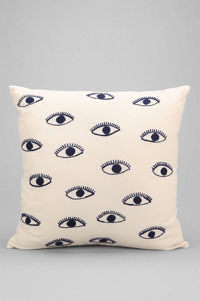 Eye-themed home accessores  (via Urban Outfitters)