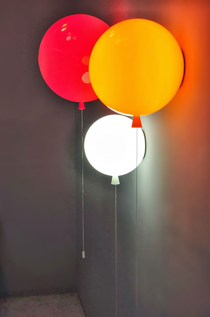 Memory balloon lights by Boris Klimek