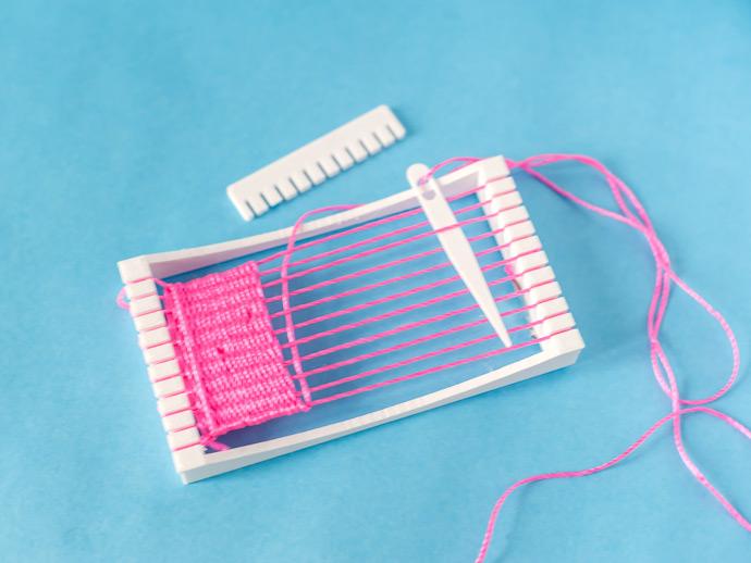3D printable weaving loom for kids