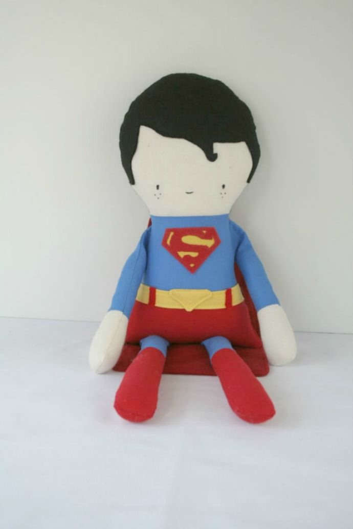 Superman never looked so cute!