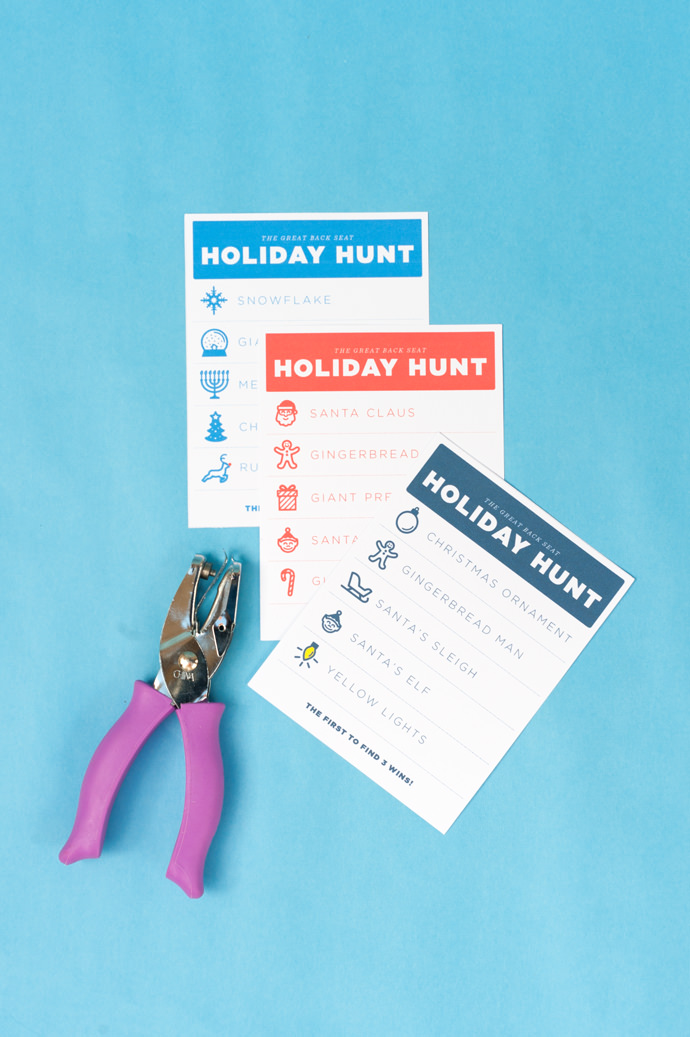 The Great Backseat Holiday Hunt