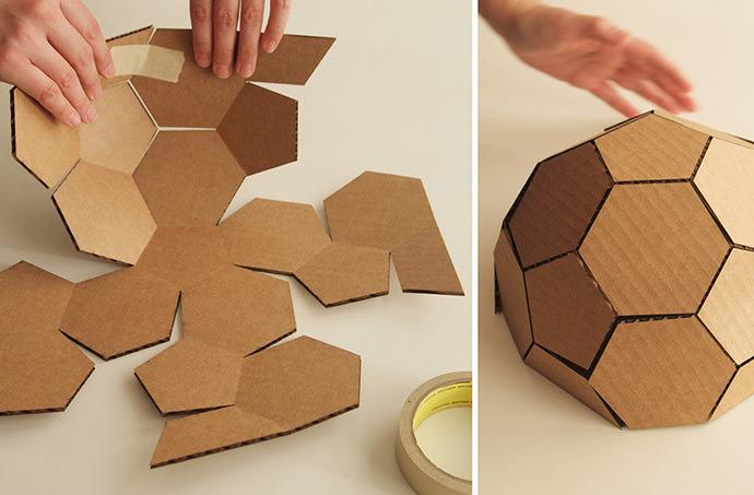 DIY Geodesic Gingerbread House