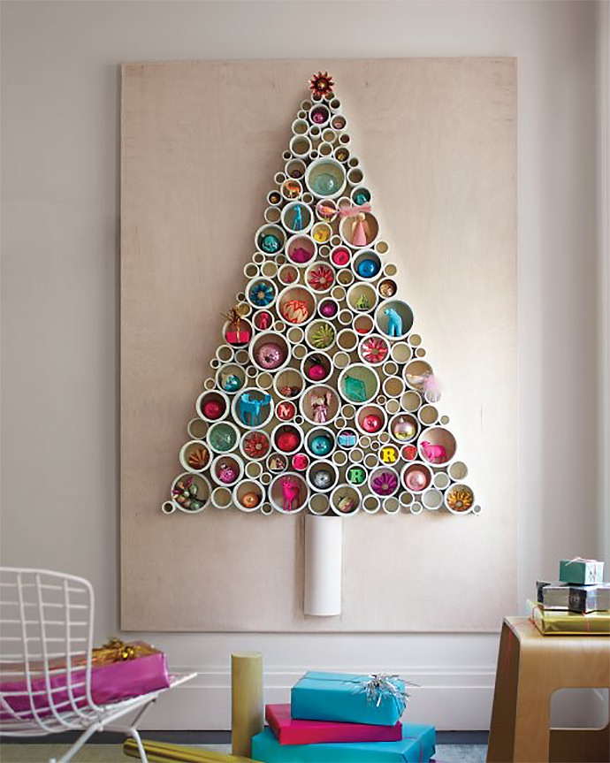 PVC Pipe Tree via Martha Stewart