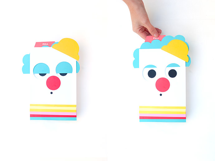 DIY Circus Gift Wrap: Pull The Tab, Roll The Eyes!