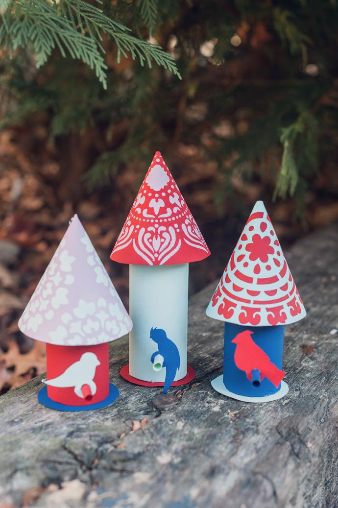 DIY Birdhouse Ornament
