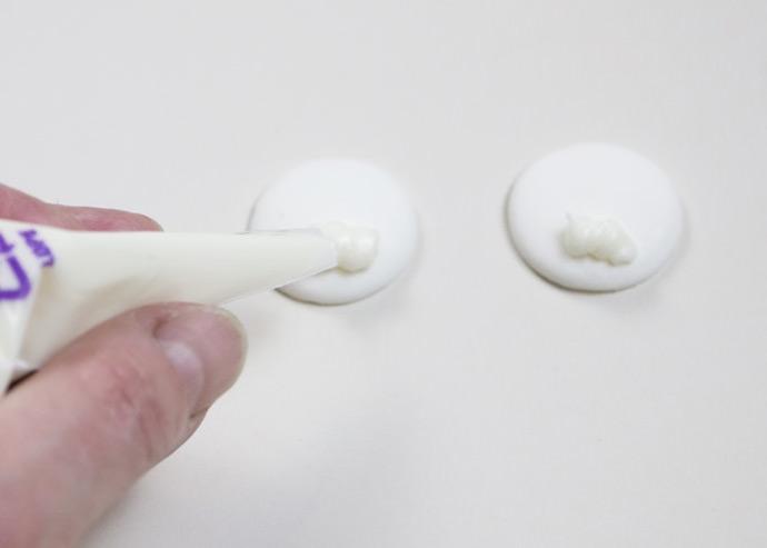 Easy No-Bake Polar Bear Cookies
