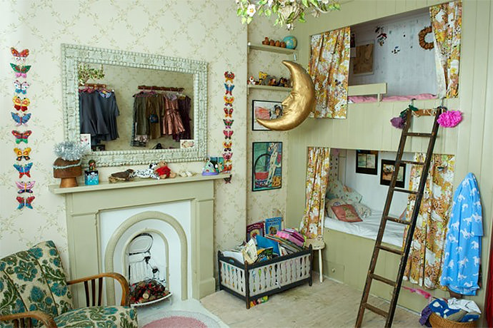 Whimsical kids room