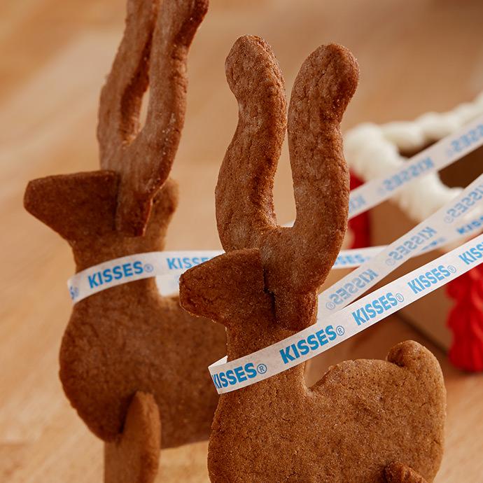 Santa's Gingerbread Sleigh